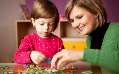 Why are puzzles good tools for children?