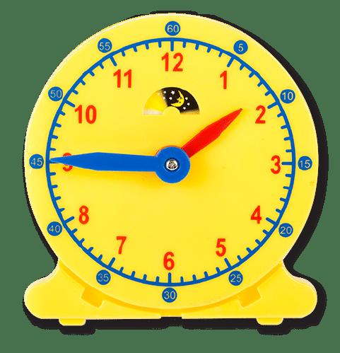 Geared Learner's Clock